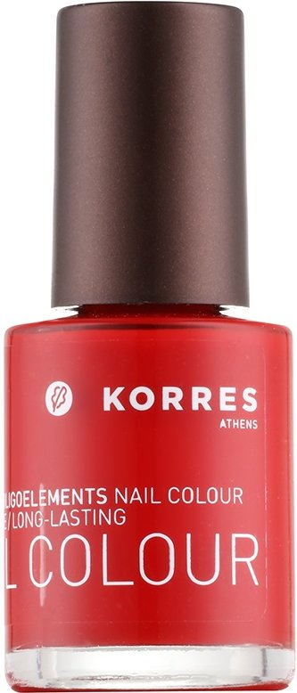 Korres Decorative Care Nail Colour lak na nehty odstín 53 Pure Red  10 ml