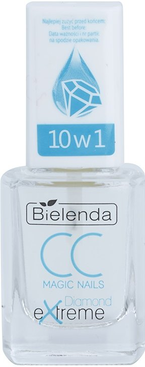 Bielenda CC Magic Nails Diamond Extreme zpevňující sérum na nehty  11 ml