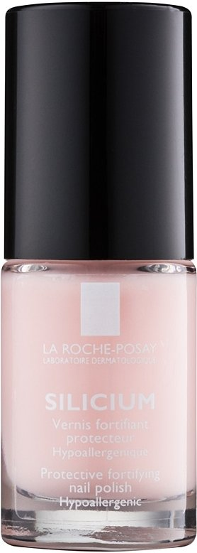 La Roche-Posay Silicium Color Care lak na nehty odstín 02 Rose 6 ml
