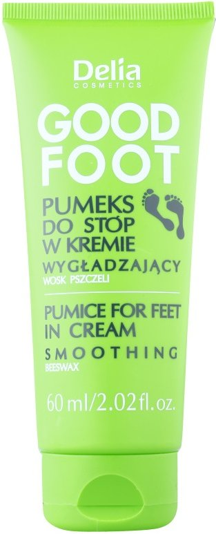 Delia Cosmetics Good Foot pemza na nohy v krému  60 ml