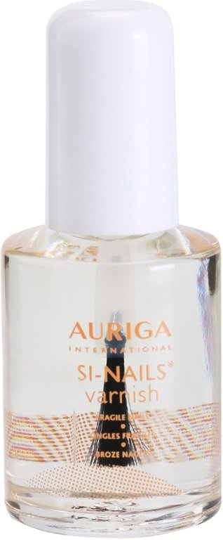 Auriga Si-Nails regenerační lak na nehty Nourishes and Protects Fragile Nails 12 ml