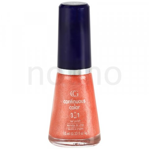 CoverGirl Continuous Color lak na nehty se třpytkami odstín 124 Papaya Shake 10 ml