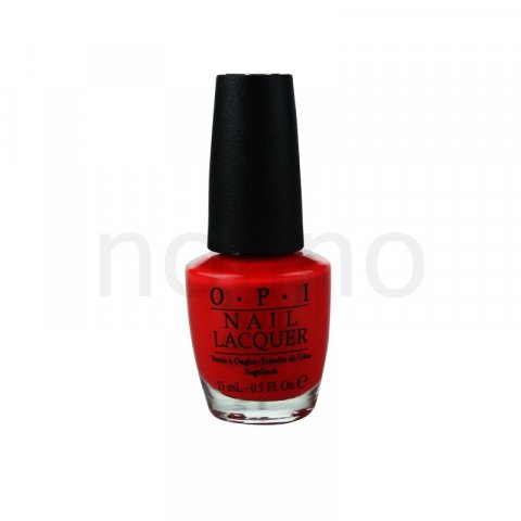 OPI Hong Kong Collection lak na nehty odstín Red My Fortune Cookie 15 ml
