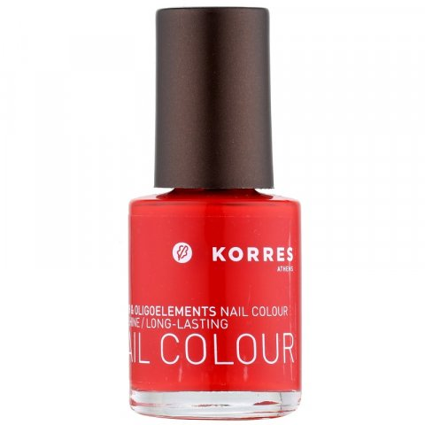 Korres Decorative Care Nail Colour lak na nehty odstín 48 Coral Red  10 ml