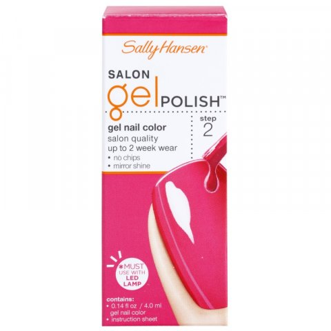 Sally Hansen Salon gelový lak na nehty odstín 210 Back to the Fuschia 7 ml