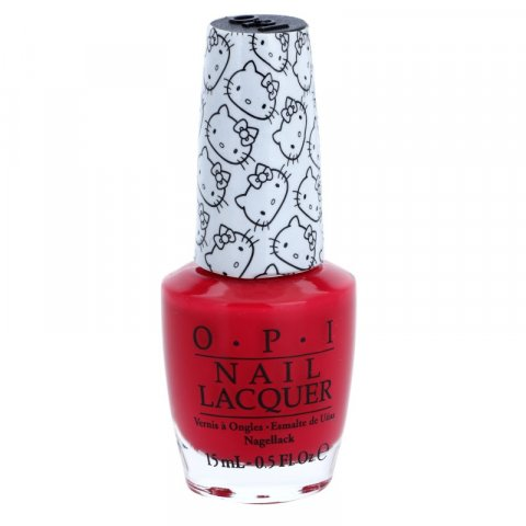 OPI Hello Kitty lak na nehty odstín 5 Apples Tall 15 ml