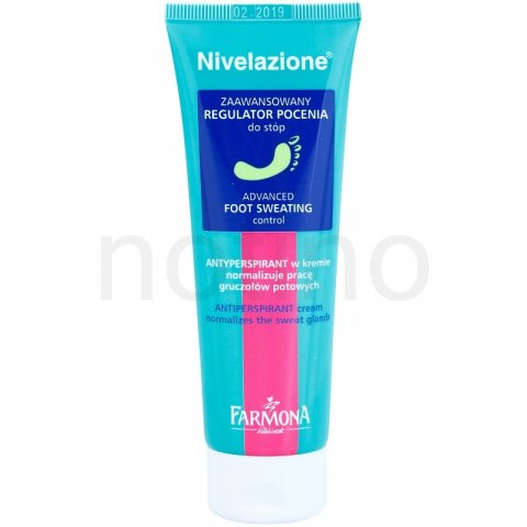 Farmona Nivelazione krémový antiperspirant na nohy (Normalizes the Sweat Glands) 75 ml