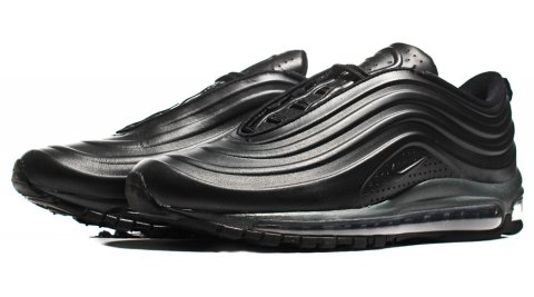 Bezešvé tenisky Nike Air Max 97 Vac Tech Black / Anthracite