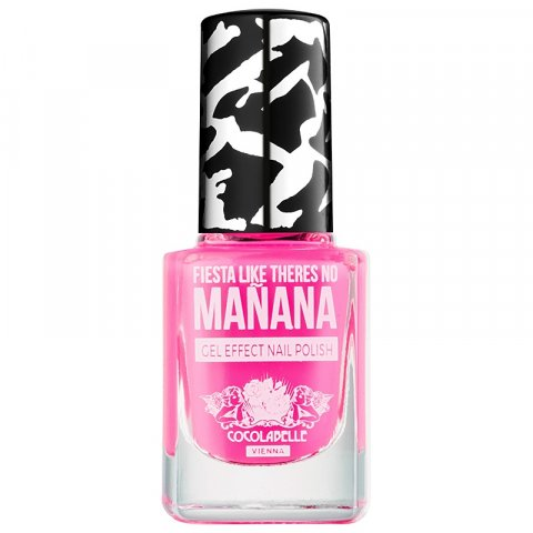 Cocolabelle Gel-Tastic Crush on Colors lak na nehty s gelovým efektem odstín Fiesta Like Theres No Manana 12 ml