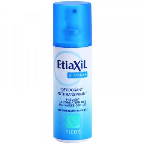 Etiaxil Daily Care deodorant v rozprašovači na nohy a do bot  100 ml