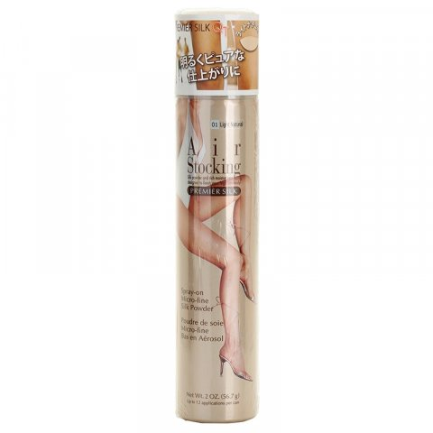 AirStocking Premier Silk punčochy ve spreji odstín Light Natural  56,7 g