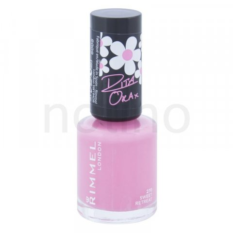 Rimmel 60 Seconds By Rita Ora lak na nehty odstín 270 Sweet Retreat 8 ml