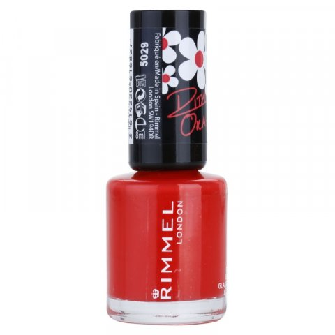 Rimmel 60 Seconds By Rita Ora lak na nehty odstín 300 Glaston Berry 8 ml
